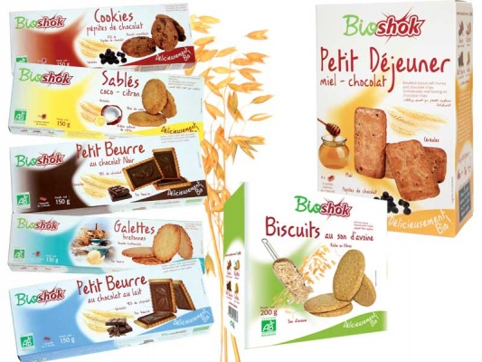 Design packaging biscuits Bioshok