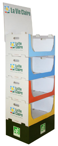 Design packaging La Vie Claire